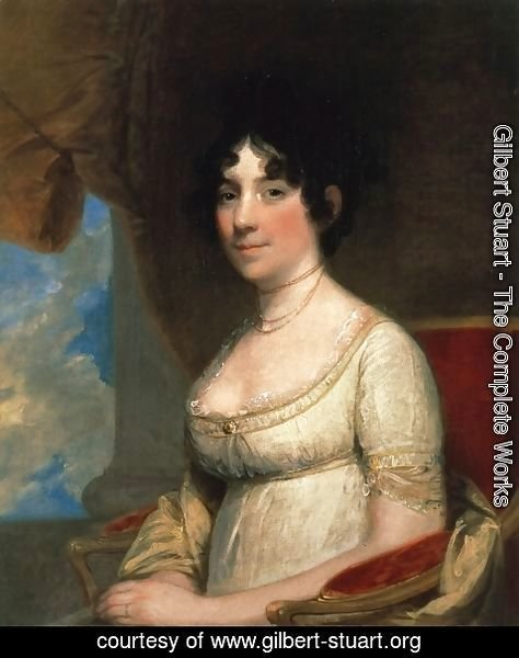 Gilbert Stuart - Dolley Madison (Mrs. James Madison)  1804
