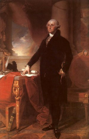 Gilbert Stuart - George Washington  1796