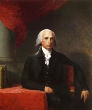 Gilbert Stuart - James Madison  1805-07