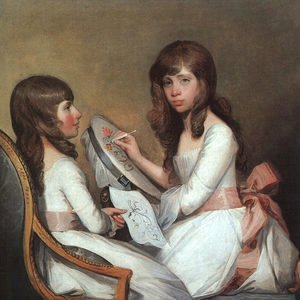 Gilbert Stuart - Miss Dick and her Cousin Miss Forster  1792-97