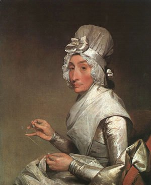 Gilbert Stuart - Mrs. Richard Yates  1793-94