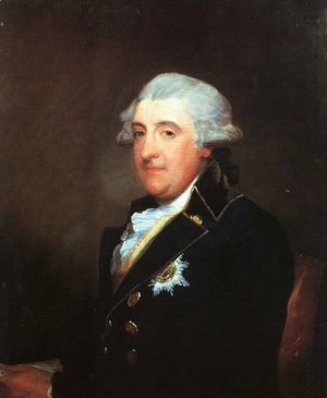 Gilbert Stuart - The Duke of Leinster  1787