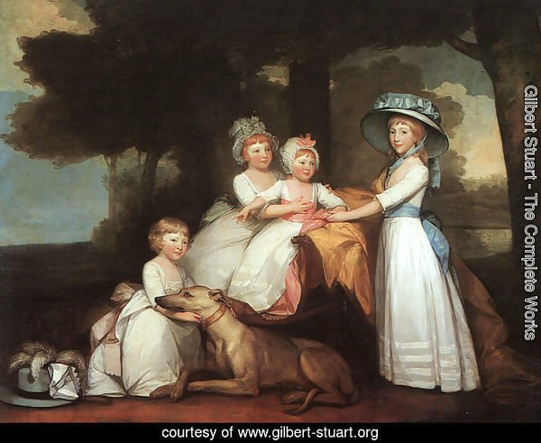 The Percy Children 1787