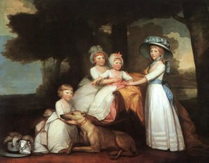 Gilbert Stuart - The Percy Children 1787