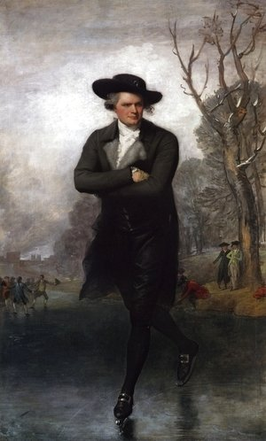 Gilbert Stuart - The Skater (Portrait of William Grant)  1782