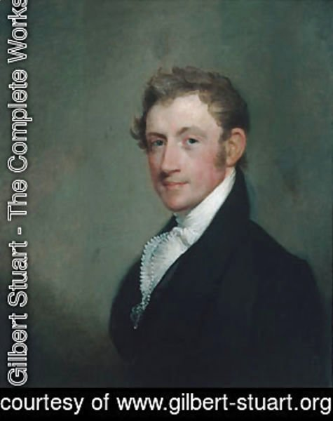 Gilbert Stuart - David Sears, Jr.
