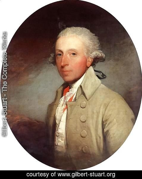 Gilbert Stuart - Theophilus Jones of Headford Castle