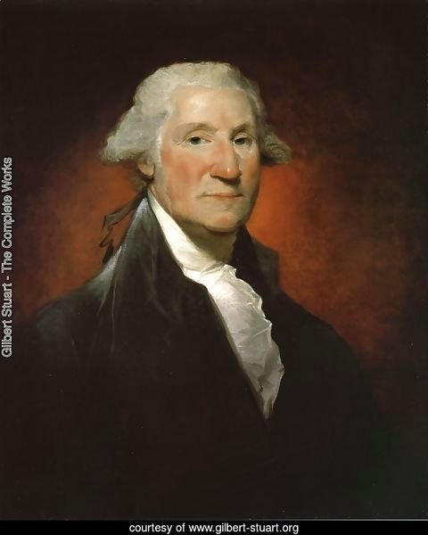 George Washington (The Vaughan Portrait)