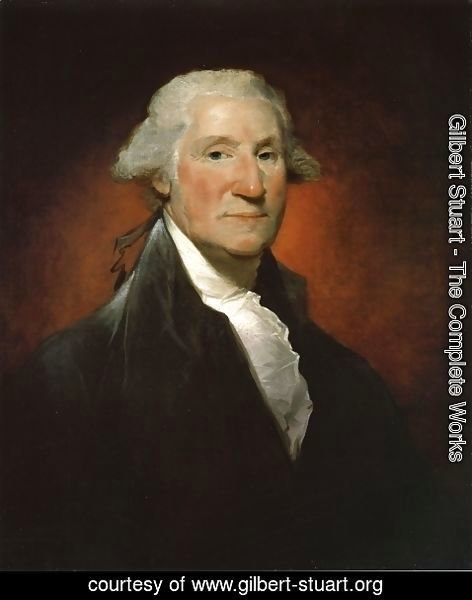 Gilbert Stuart - George Washington (The Vaughan Portrait)