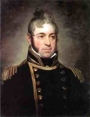 Gilbert Stuart - Commodore William Bainbridge, Commander of The Constitution (1774-1833)