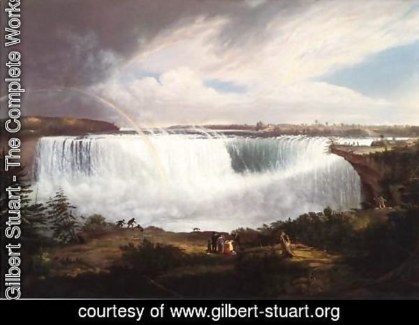 Gilbert Stuart - The Great Horseshoe Fall, Niagara