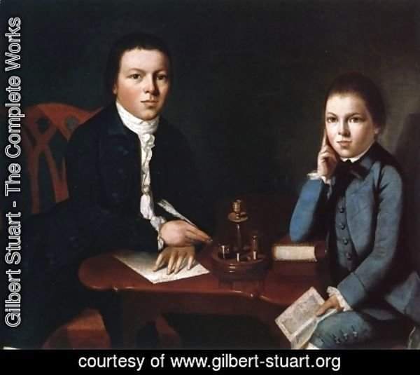 Gilbert Stuart - Francis Malbone and His Brother Saunders