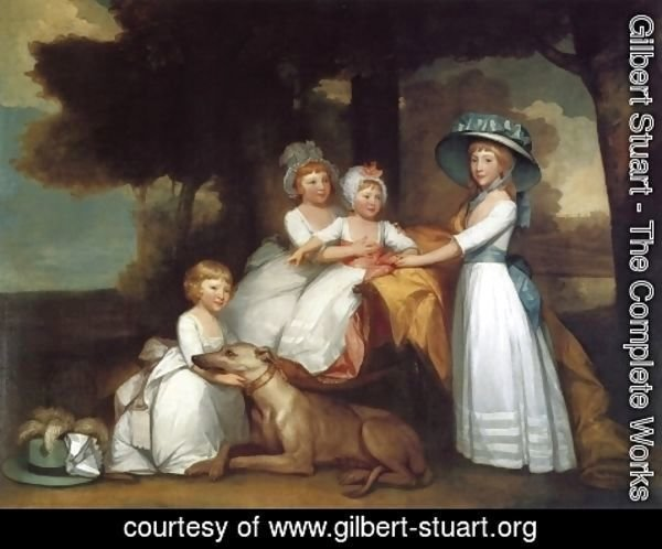 Gilbert Stuart - The Children of the Second Duke of Northumberland
