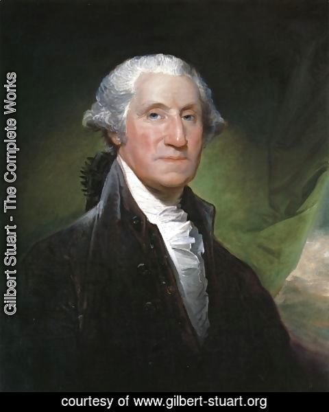 Gilbert Stuart - George Washington (The Gibbs-Channing-Avery Portrait)