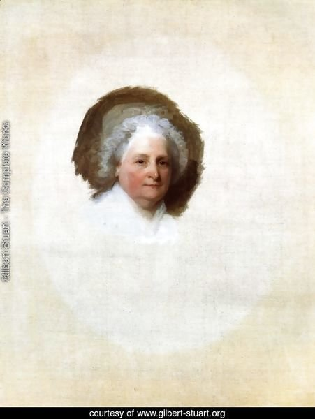 Martha Washington (The Athenaeum Portrait)