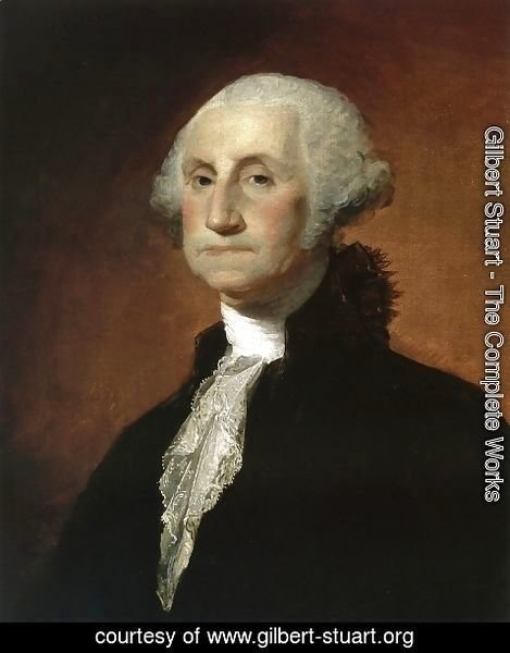 Gilbert Stuart - George Washington IV