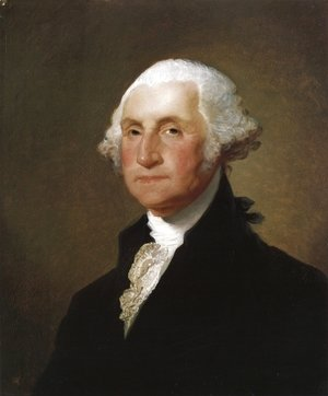 Gilbert Stuart - George Washington VI