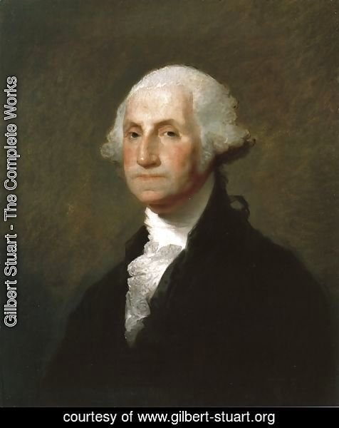 Gilbert Stuart - George Washington VII