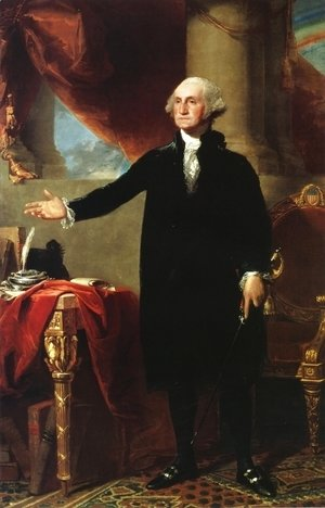 Gilbert Stuart - George Washington (The Landsdowne Portrait)