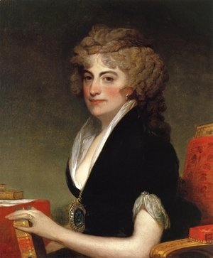Gilbert Stuart - Anne Willing Bingham