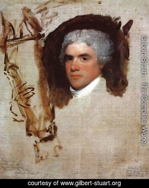 Gilbert Stuart - John Bill Ricketts (unfinished)
