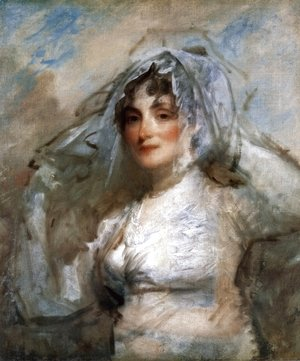 Gilbert Stuart - Sarah Wentworth Apthorp Morton