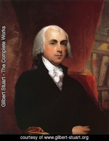 Gilbert Stuart - James Madison
