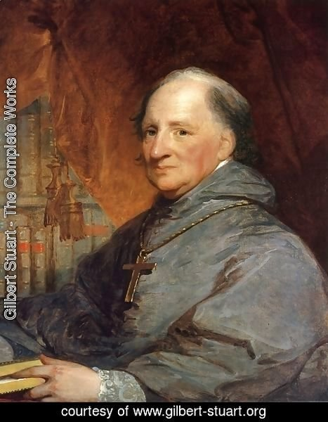 Gilbert Stuart - Bishop John Carroll