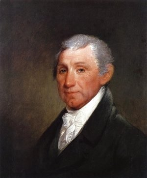 Gilbert Stuart - James Munroe