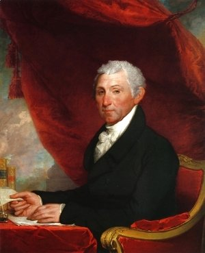 Gilbert Stuart - James Munroe I