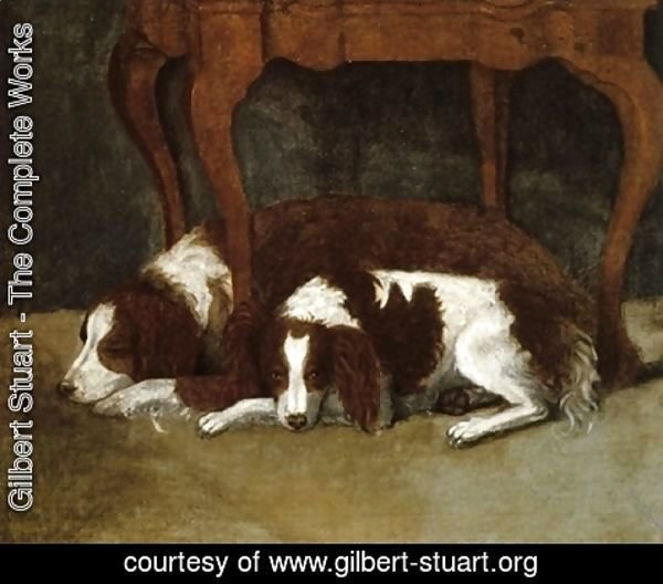 Gilbert Stuart - The Hunter Dogs