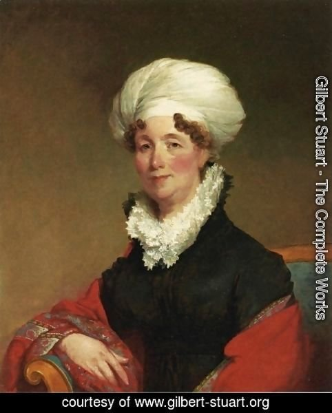 Gilbert Stuart - Ann Woodward Haven