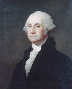 Gilbert Stuart - George Washington VIII
