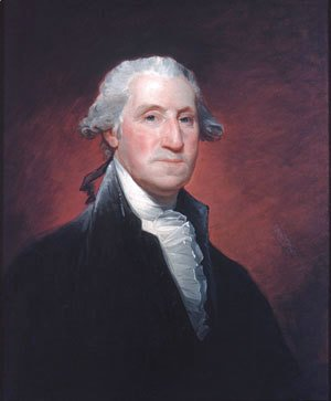 Gilbert Stuart - George Washington IX