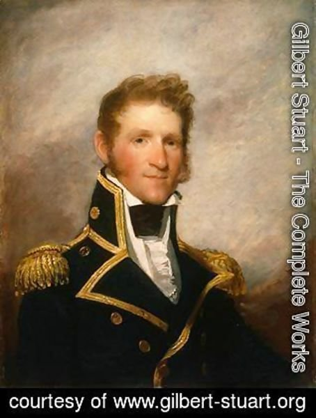 Gilbert Stuart - Commodore Thomas Macdonough