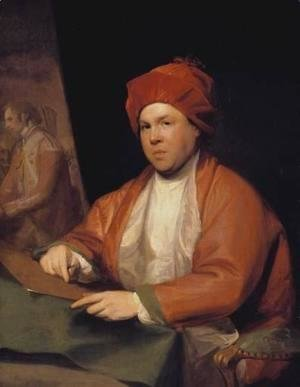 Gilbert Stuart - William Woollet the Engraver