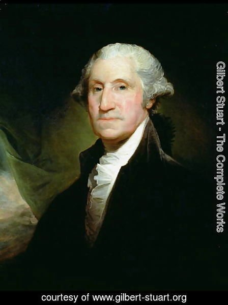 Gilbert Stuart - George Washington 2