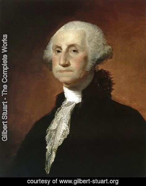 Gilbert Stuart - George Washington 1797