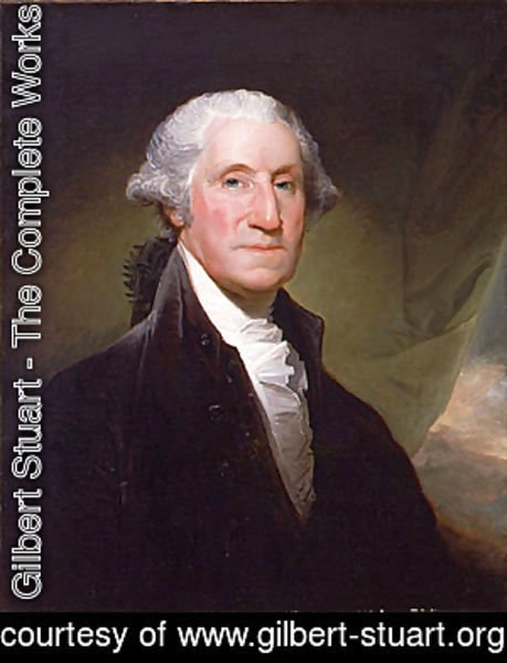 Gilbert Stuart - George Washington begun 1795