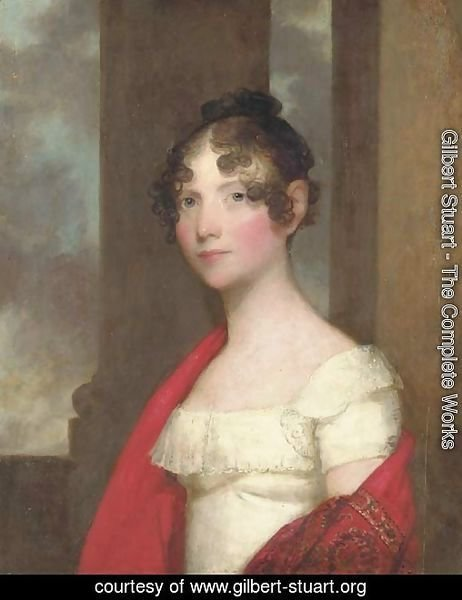 Portrait of Mrs. James Smith Colburn (Sarah Dunn Prince)