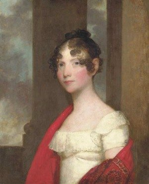 Gilbert Stuart - Portrait of Mrs. James Smith Colburn (Sarah Dunn Prince)