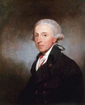 Gilbert Stuart - Portrait Of A Man, Said To Be Theophilus Jones (1759-1812)