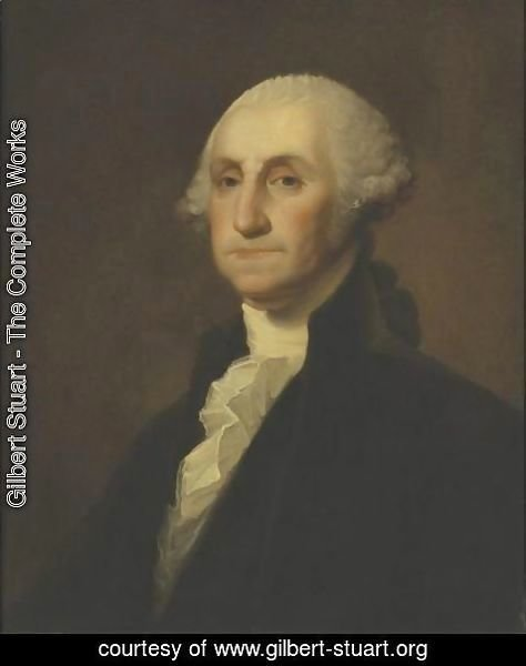Gilbert Stuart - Portrait Of George Washington