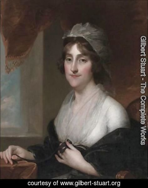 Gilbert Stuart - Mrs. William Rawle (Sarah Coates Burge)
