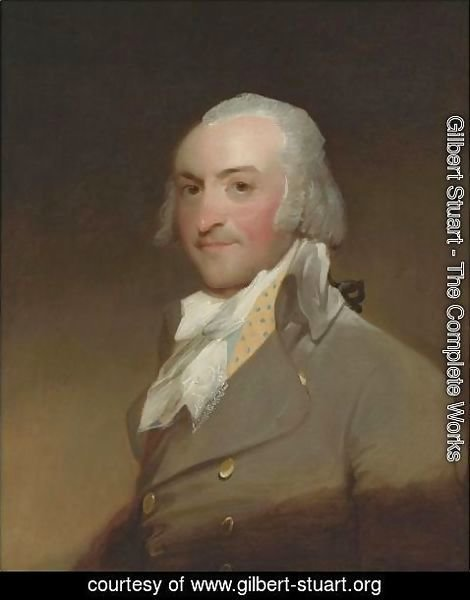 Gilbert Stuart - John Jacob Astor