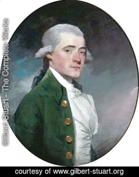 Gilbert Stuart - Portrait of George Matcham Esq. (1753-1833)