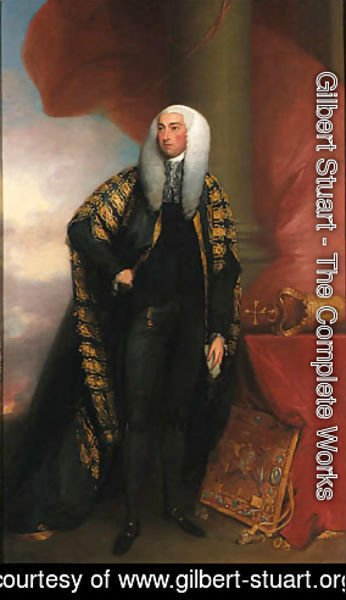 Gilbert Stuart - Portrait of John, Lord Fitzgibbon, Lord Chancellor