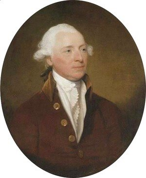 Gilbert Stuart - Portrait of Sir John Lees, 1st Bt., of Black Rock, Co. Dublin