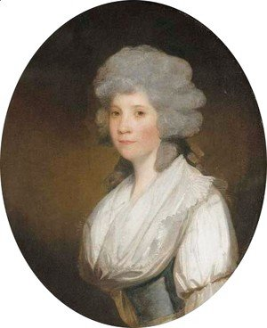 Gilbert Stuart - Portrait of Mary, Lady Lees