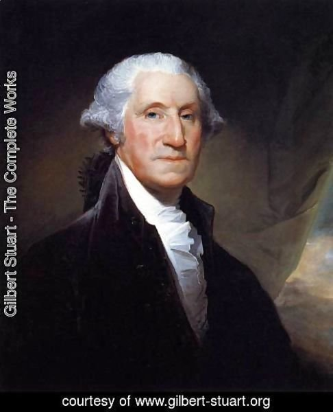 Gilbert Stuart - George Washington 1795